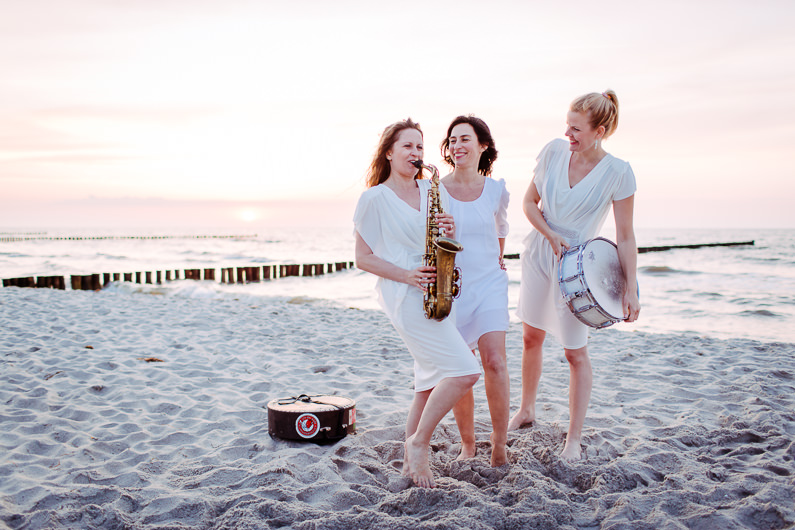 Fotoshooting am Strand: Pearls of Berlin